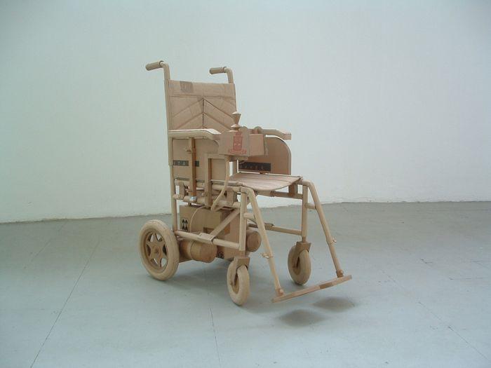 Скульптуры из картона. Chris Gilmour 58