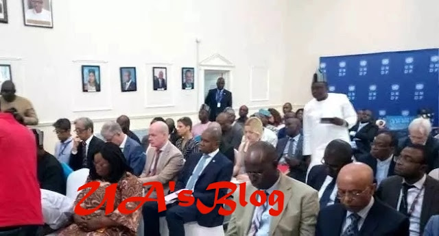 Governor Ortom meets UN delegation over Benue Killings (photos)