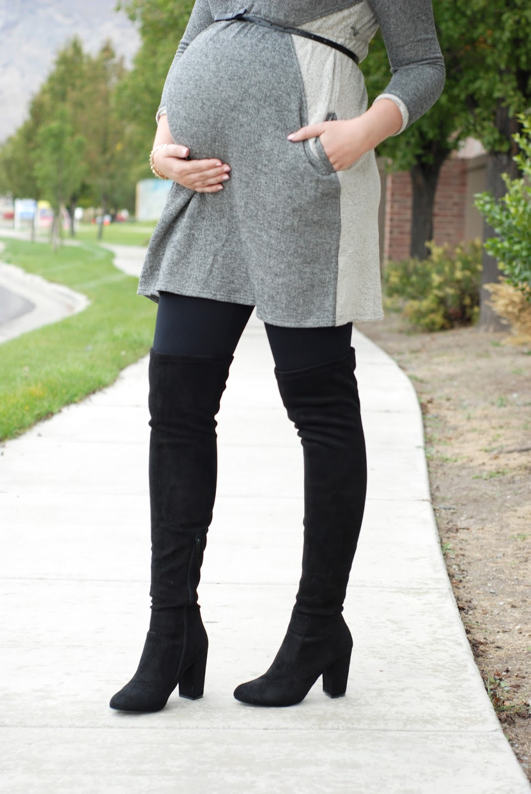 Black Knee High Boots, Boots, Fall Outfit