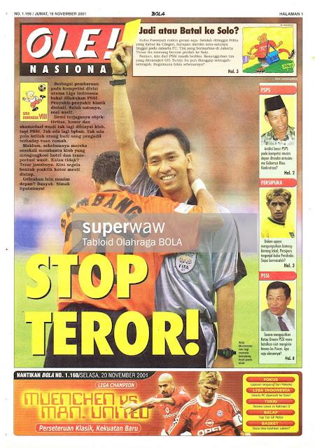 STOP TEROR SEPAKBOLA INDONESIA