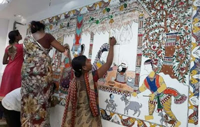 Madhubani Railway Station gets a makeover with Mithila Paintings