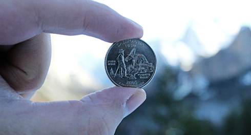 Yosemite National Park California Quarter