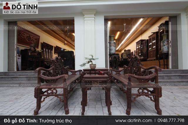 Bộ bàn ghế trúc thọ mang đến sự sang trọng cho ngôi nhà của bạn