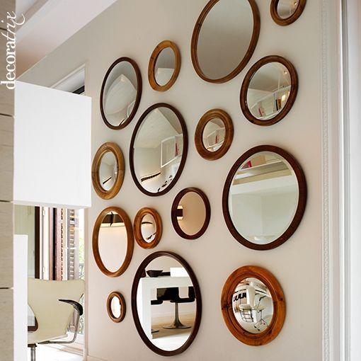 Los espejos redondos est n de moda for Espejos circulares pared