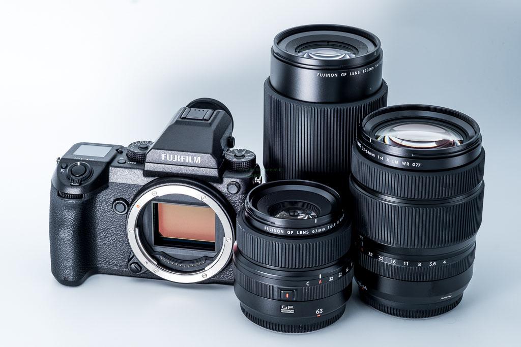 Камера Fujifilm GFX 50s и объективы к ней