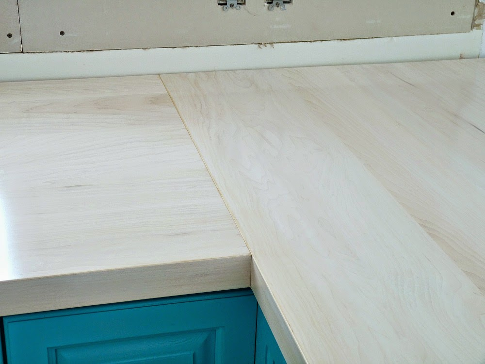 DIY Wood Counter Tutorial