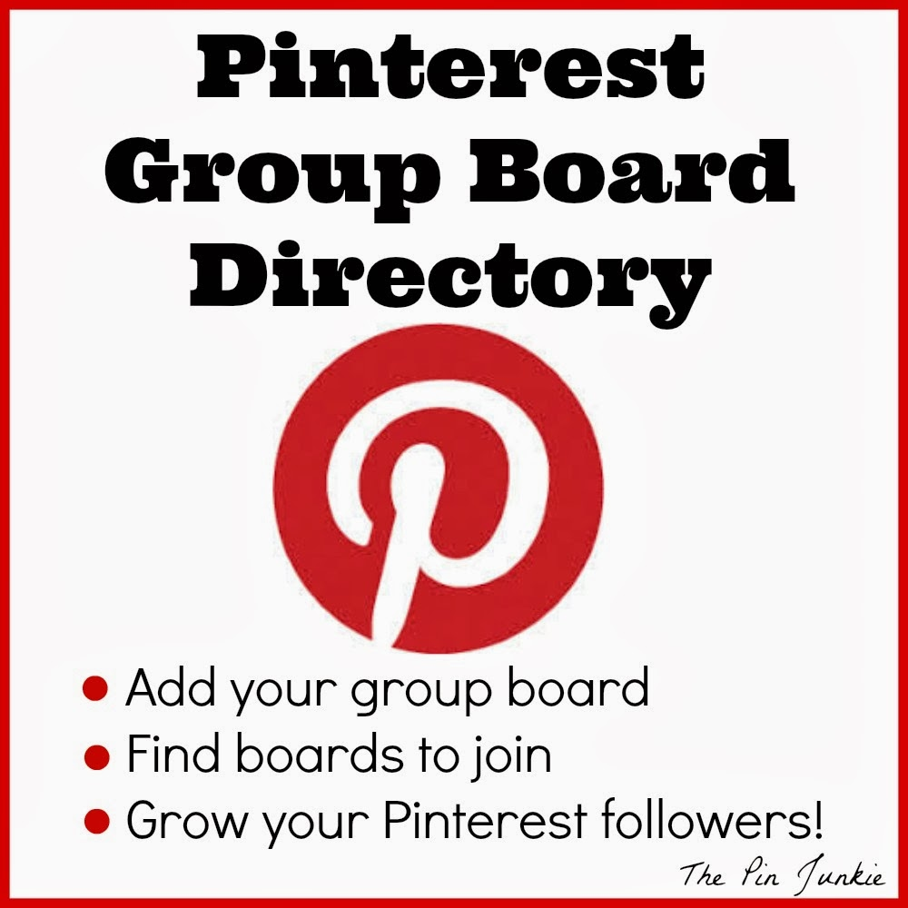List of Pinterest group boards