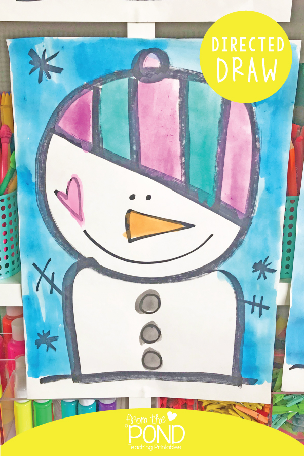 Snowman Winter Art Project For Kids