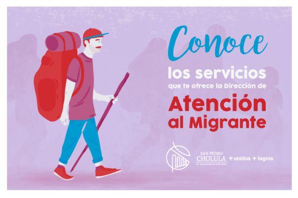 Servicios que te ofrece la Dirección de Atención al Migrante