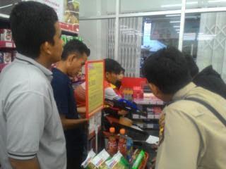 Pencuri Gasak Rp 2,6 Juta Uang Dalam Brangkas Alfamart