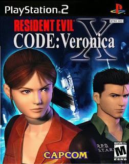 Capa Jogo code verônica X ps2 resident evil 2001 Torrent ISO