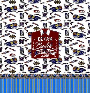 Cetak seragam batik