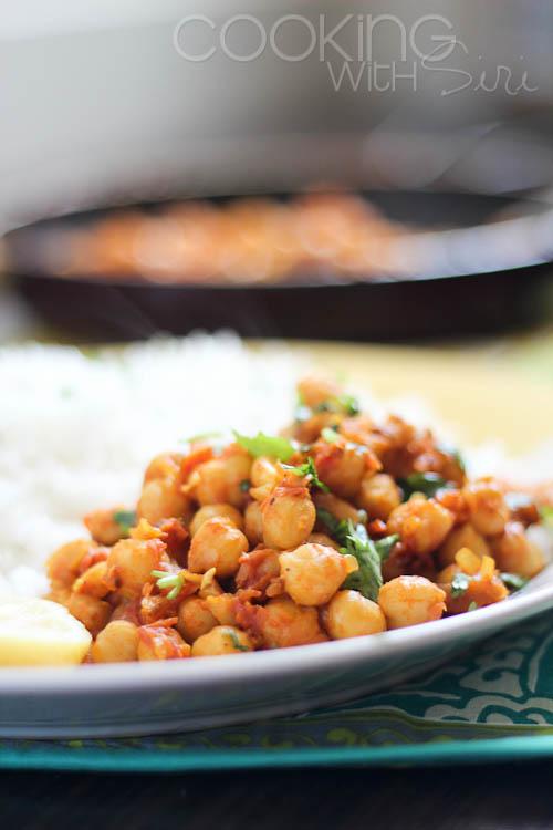 Tawa Chana Recipe Pan-Fried Chickpea Curry