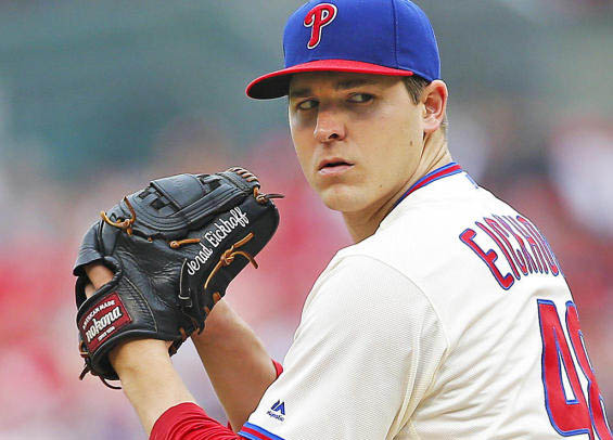 Jerad Eickhoff remains winless for the Philadelphia Phillies