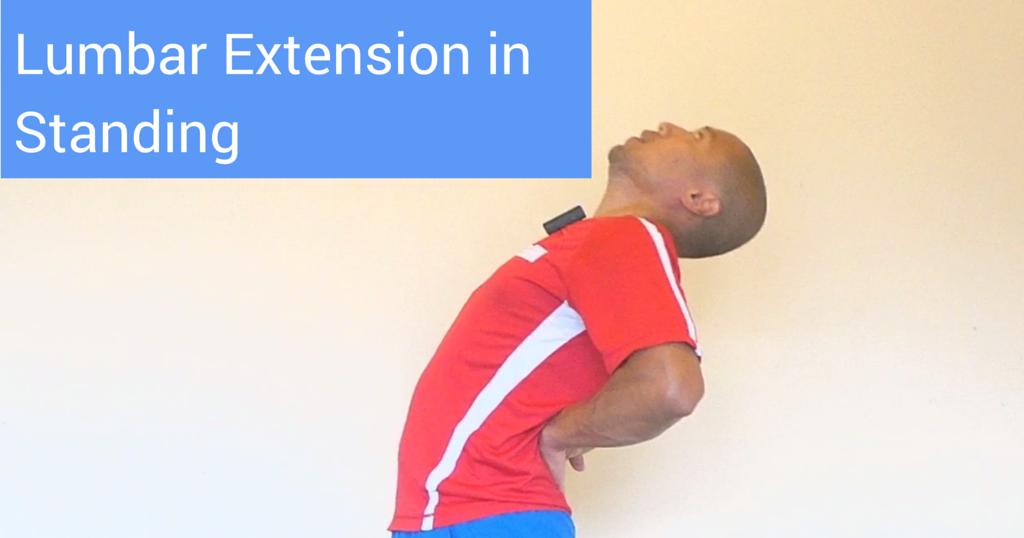 Top 5 Fridays! 5 Tweaks to Maximize Lumbar Extension in Standing ...