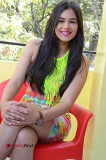 Telugu Actress Prasanna Stills in Short Dress at Inkenti Nuvve Cheppu Press Meet Stills  0166.JPG