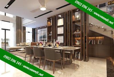 Thiết kế nội thất cổ điển với màu nâu là giải pháp tối ưu cho người mệnh Kim