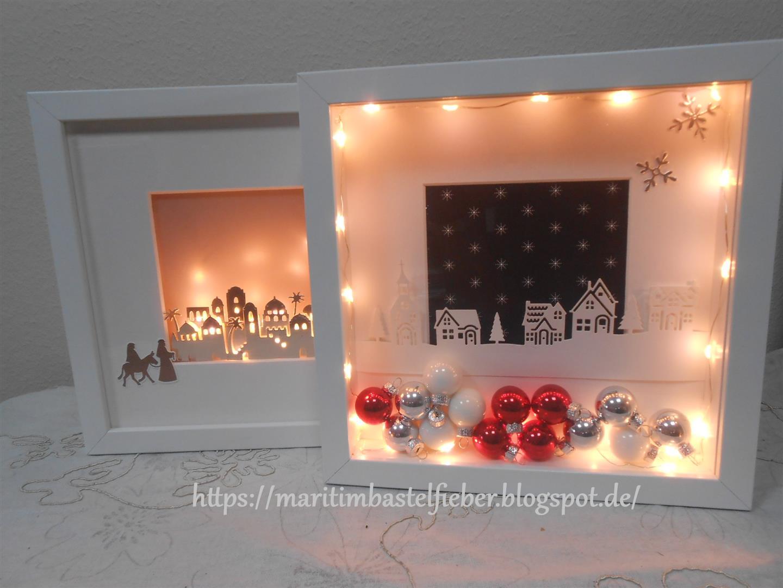 marita s bastelzimmer weihnachtliche ribba rahmen. Black Bedroom Furniture Sets. Home Design Ideas