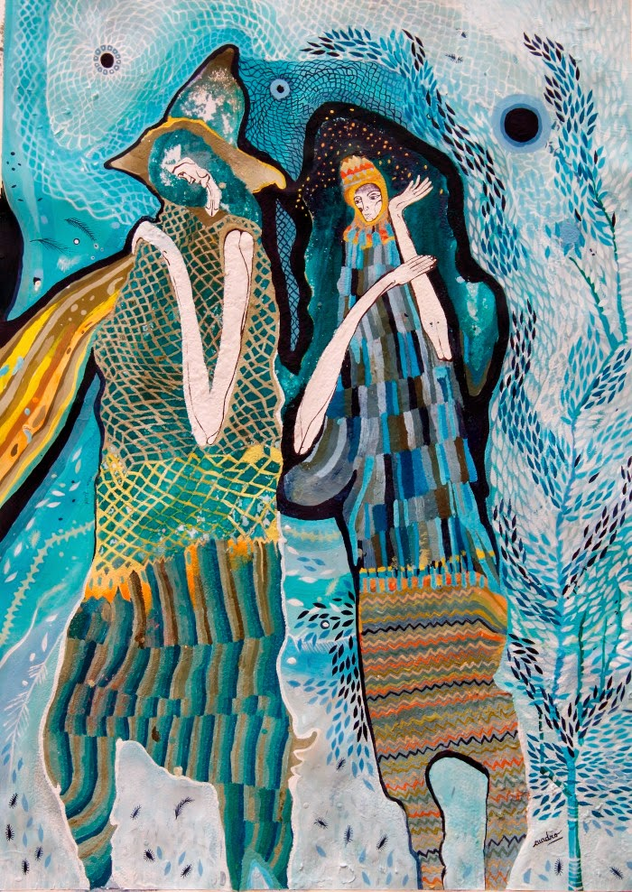 Аргентинская художница. Estela Cuadro