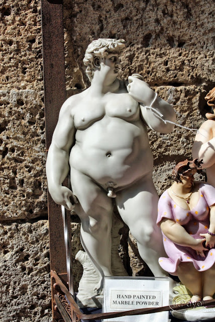 Figuras de San Gimignano, Toscana. Italia