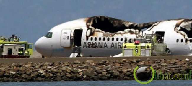Kecelakaan Pesawat di San Fransisco, 6 Juli 2013