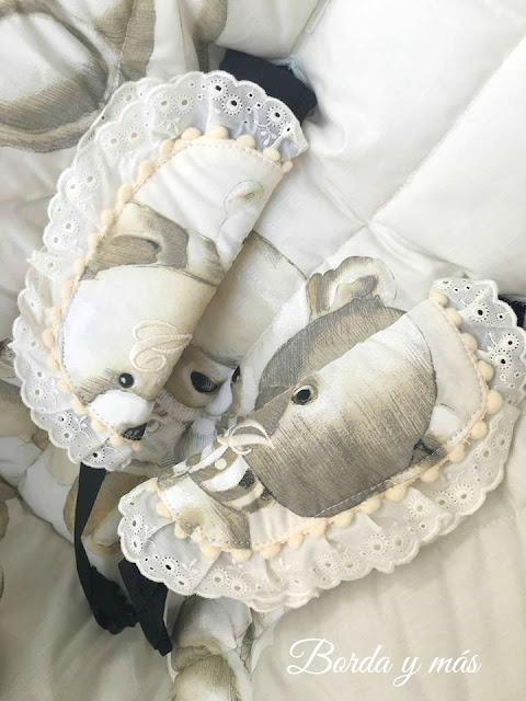 arneses osos puntilla beige Bugaboo Camaleon