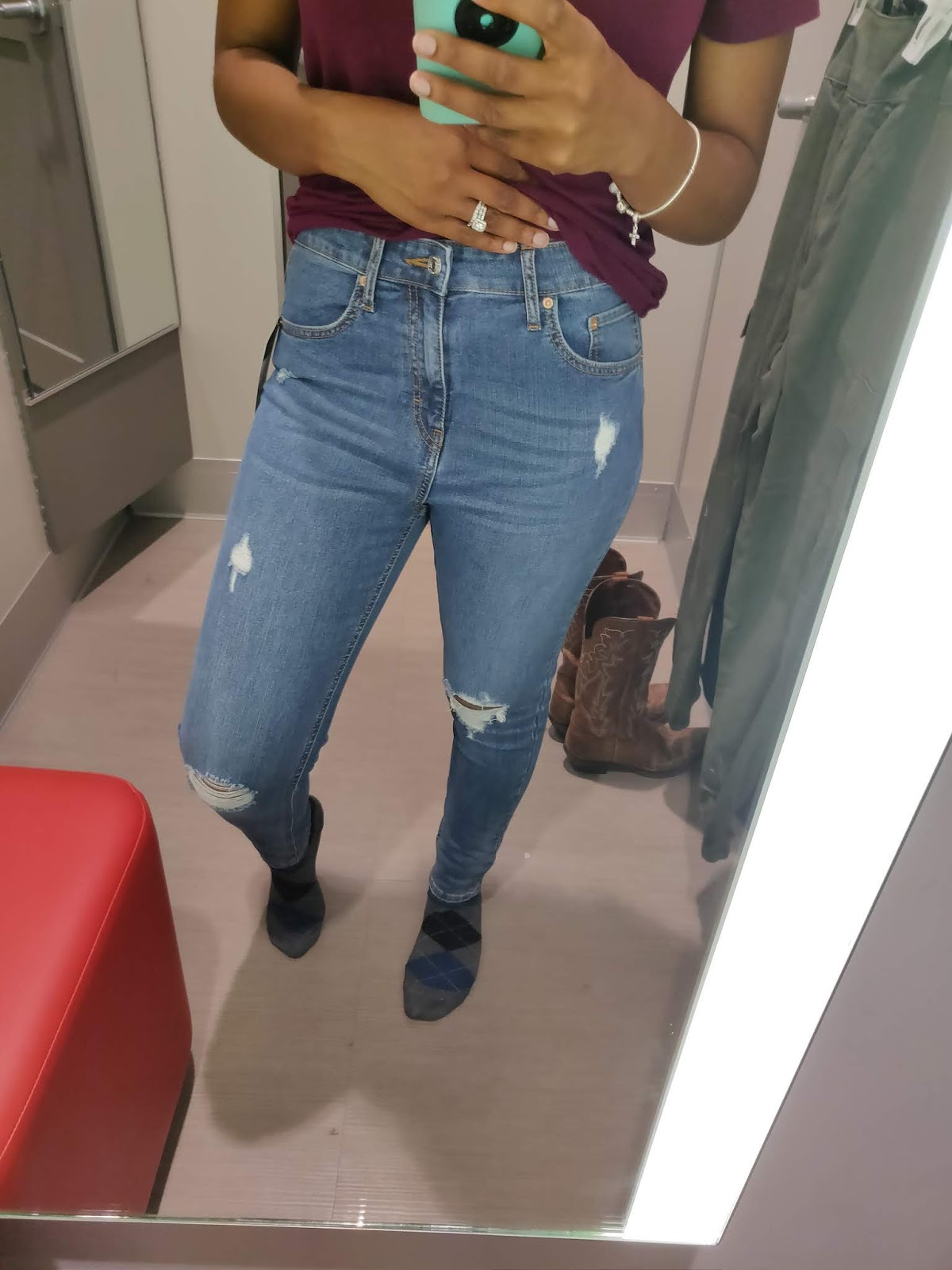 3aae4d780 Target Jeans Try-on Haul!