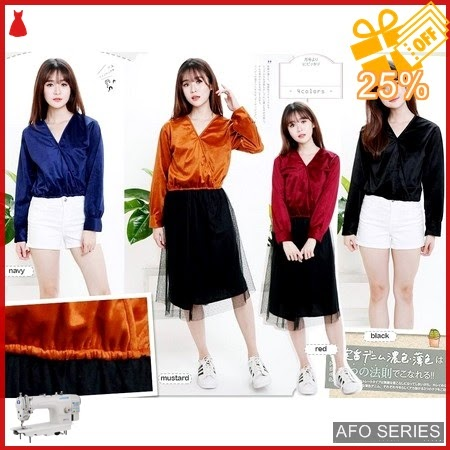 AFO143 Model Fashion Luxury Top Modis Murah BMGShop