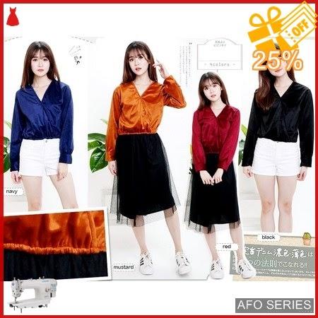 AFO143 Model Fashion Luxury Top Modis Murah BMGShop