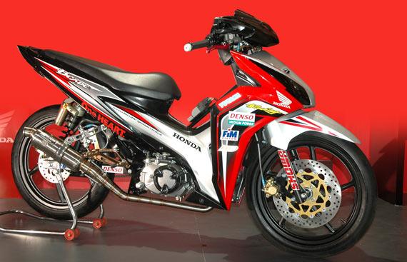 Gambar Modifikasi Motor Blade  Modifikasi Motor Terbaru