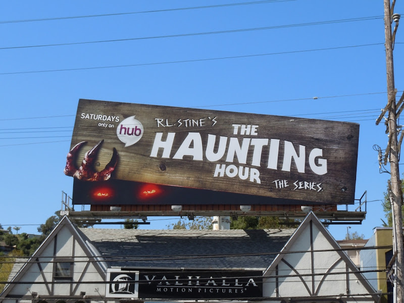 The Haunting Hour TV series billboard