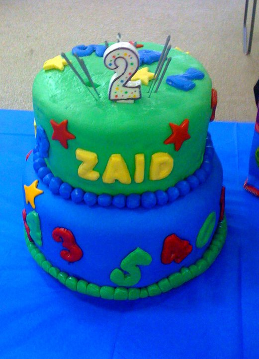 Crazy 4 Sweets Numbers Cake