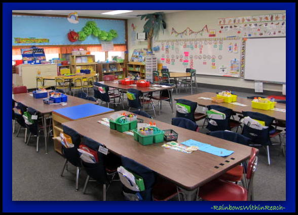 Classroom Organization Ideas For Kindergarten ~ Rainbowswithinreach spot