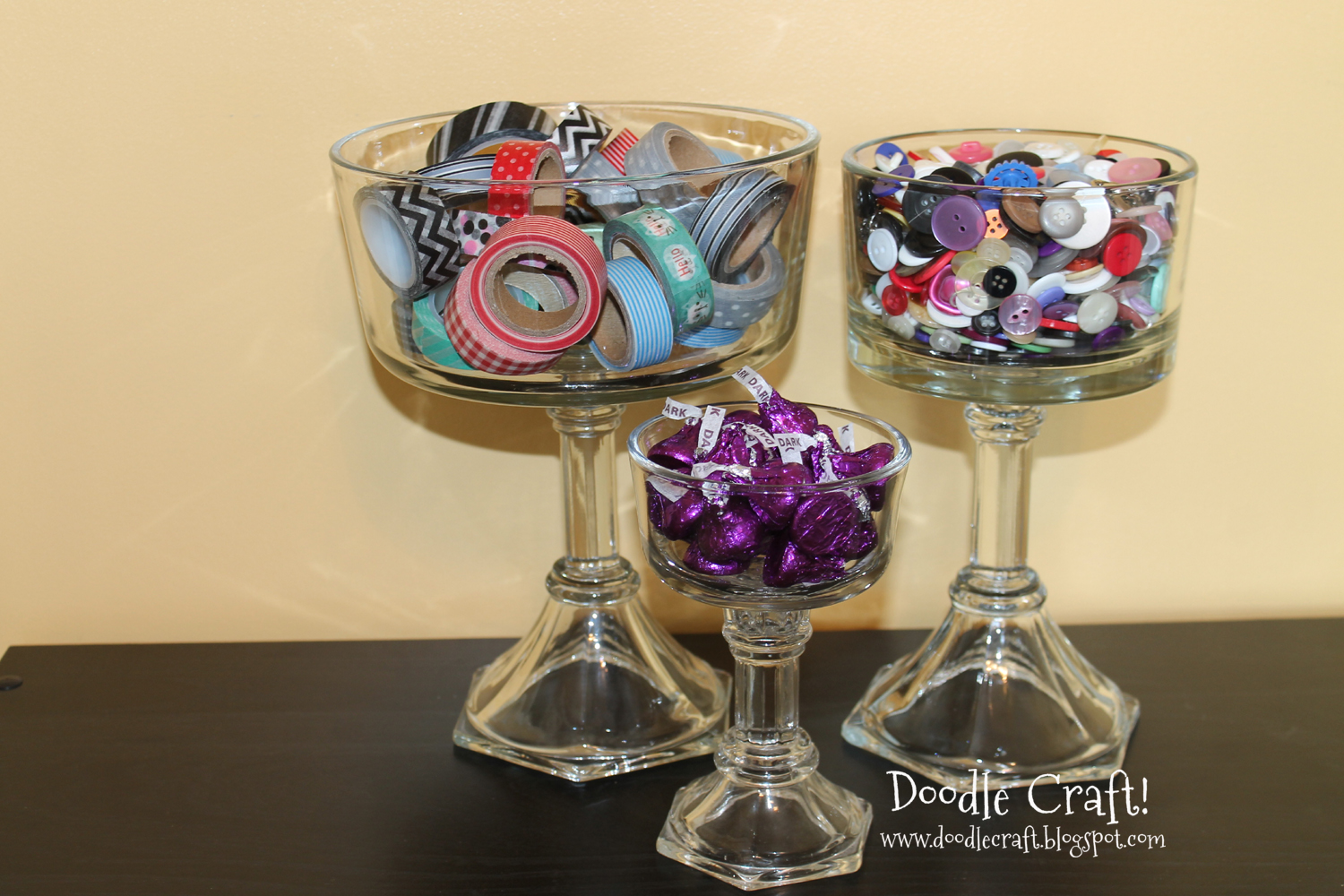 DIY Candy Or Trifle Dishes