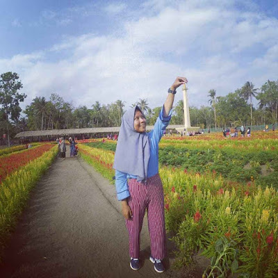 Lokasi Taman Bunga Tali Asmoro