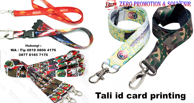 tali id card anda, kami menJual Tali Id Card full colour, Tali Name Tag Gradasi, tali lanyard printing full color, lanyard digital printing, Tali Id card bahan tissue