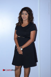 Tollywood Actress Geethanjali Thasya Latest Pos in Black Short Dress at Nanna Nenu Na Boyfriends Audio Launch  0005.JPG