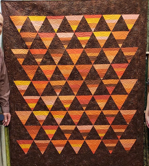 Jordan Fabrics Peaks Quilt Free Pattern designed by Cozy Quilt Designs for Jordan Fabrics