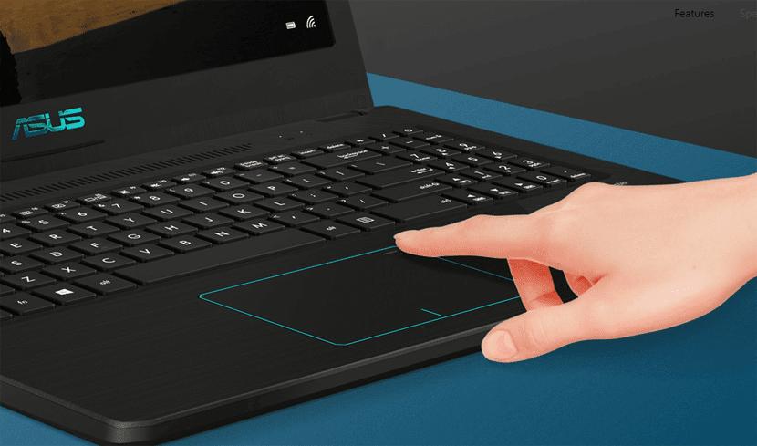 Fingerprint ASUS VivoBook Pro F570