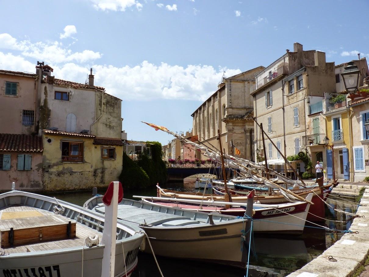 En provence et ailleurs martigues l 39 le 1 for Restaurant le miroir martigues