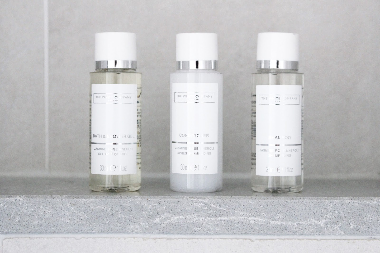 The White Company Hotel Toiletries