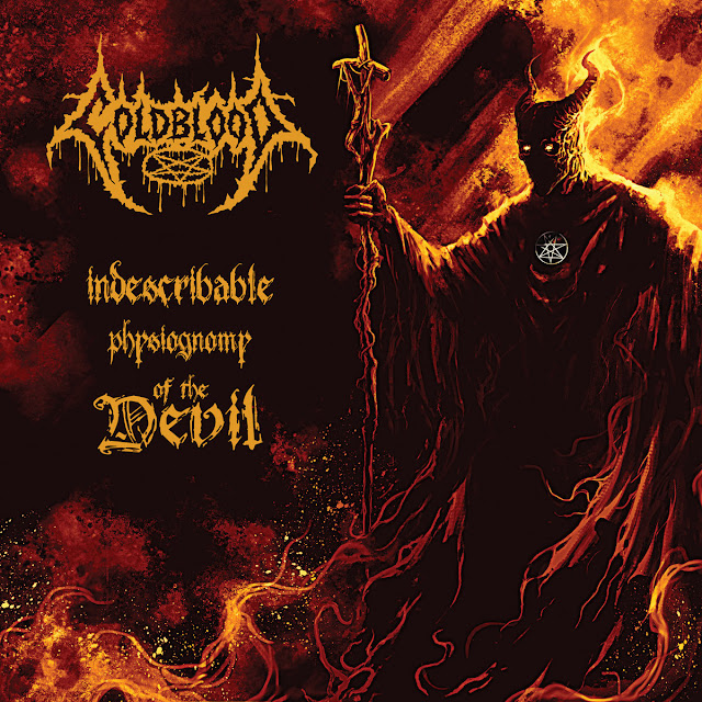 Detail from Coldblood New Album, Indescribable Physiognomy Of The Devil, Detail from Coldblood New Album Indescribable Physiognomy Of The Devil