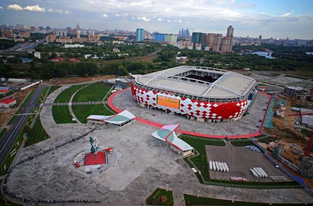 Stadion Spartak, Moskow