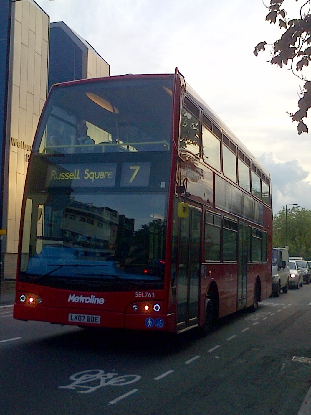 London Buses On The Go: 200th Post! The Return Of SEL763