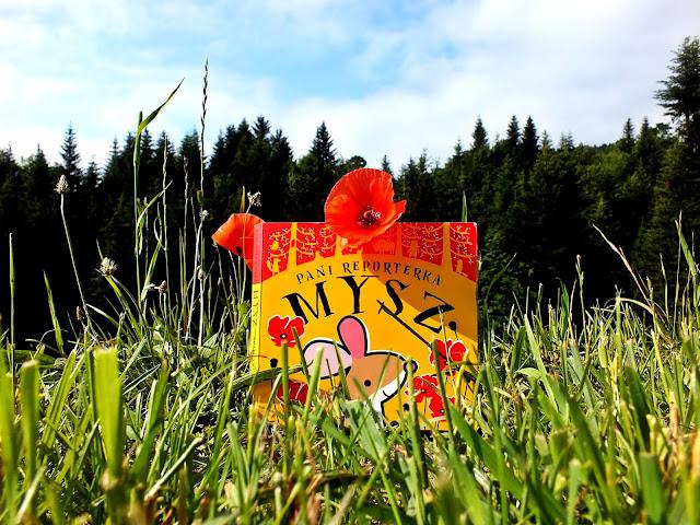 """""""PANI REPORTERKA MYSZ"""" piąty komiks dla najmłodszych z serii """"Trochę hałasu z głębi lasu"""""""