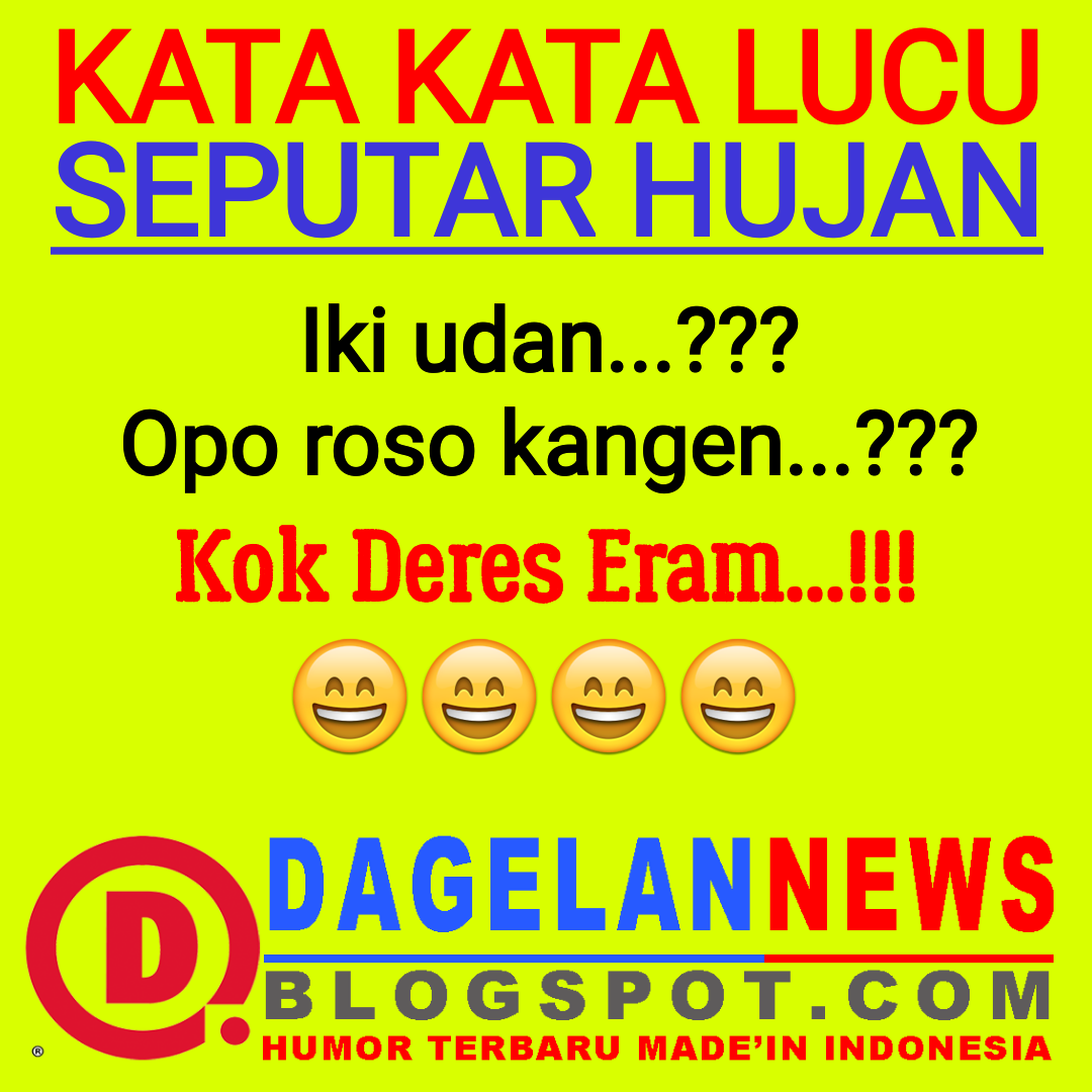 20 Gambar Lucu Hujan Bahasa Jawa Ktawa Com Ayo Ketawa