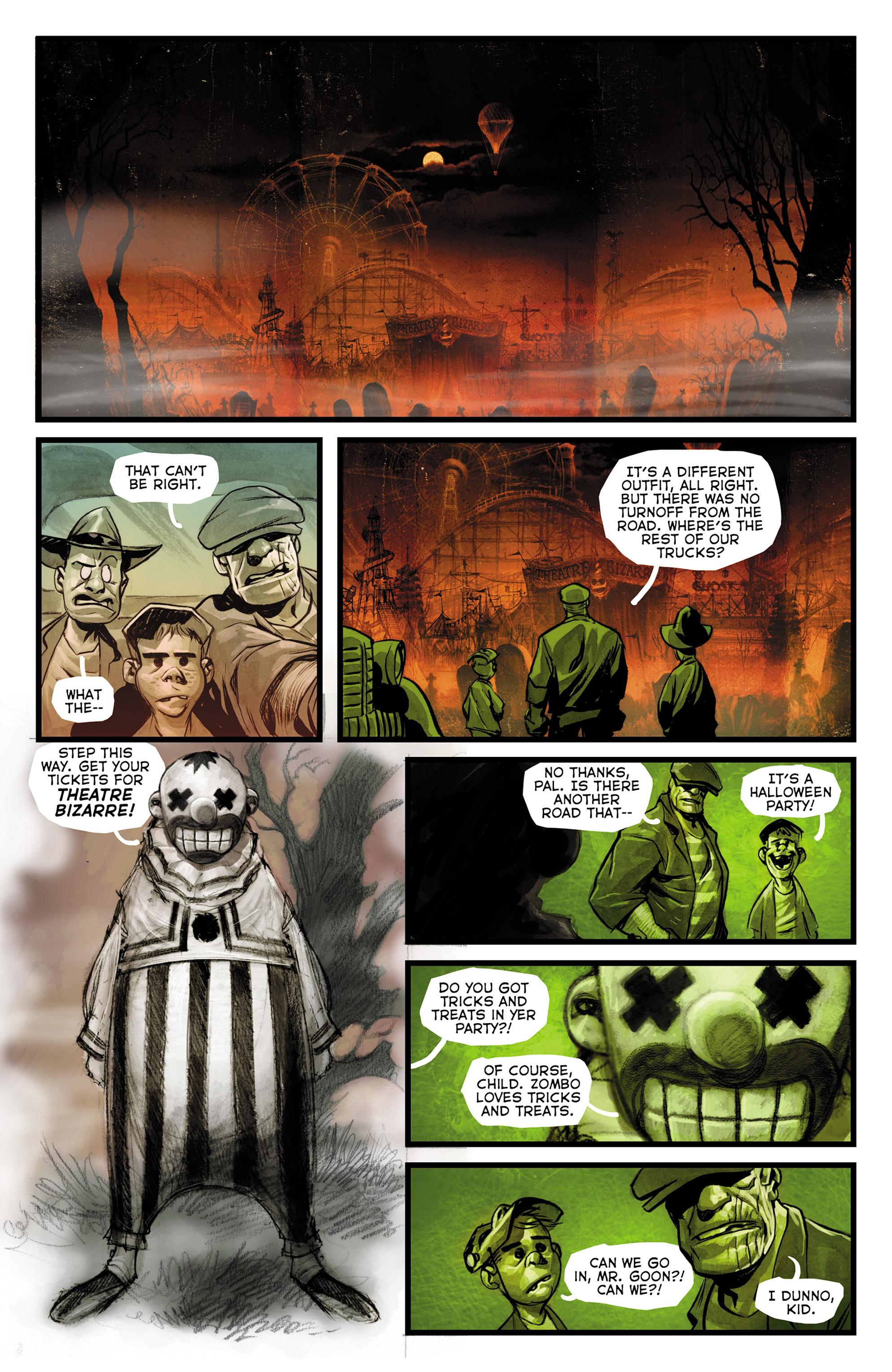 Read online The Goon: Theatre Bizarre comic -  Issue # Full - 8