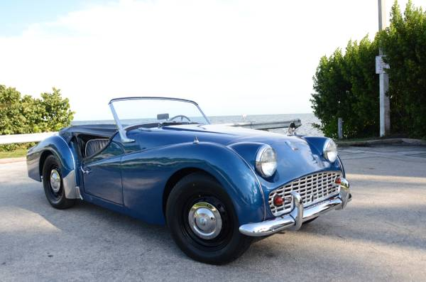 Nice Restored, 1960 Triumph TR3A