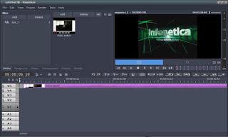 Flowblade realize edições de videos