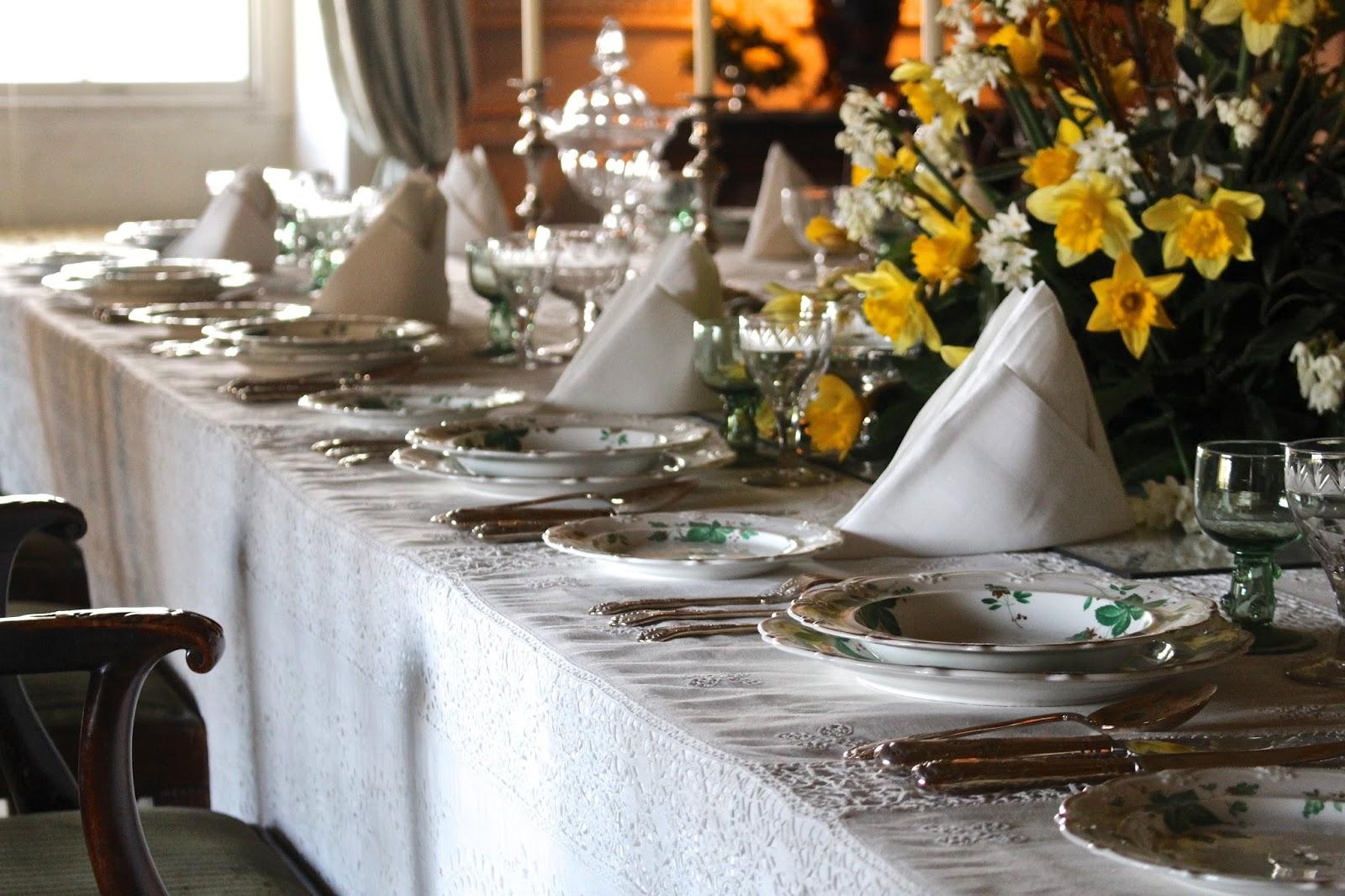 basildon park dining room